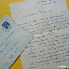 Manuscritos antiguos: JAVIER DE BORBON PARMA. CARTA ORIGINAL DEL PRETENDIENTE AL TRONO CARLISTA. Lote 182841636