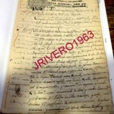 Manuscritos antiguos: SEVILLA, 1790, AUTO ROBOS PRODUCIDOS EN VENTAS DE CARMONA, Y EN FINCAS DE ALCALA DE GUADAIRA Y MAIRE. Lote 182886122