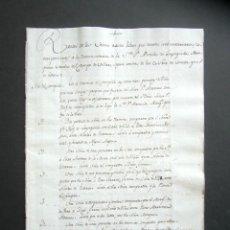 Manuscritos antiguos: AÑO 1795. HERCE. LOGROÑO. RAZÓN BIENES RAÍCES, INVENTARIO VIUDA MARQUÉS DE CAMPO VILLAR. VIÑAS. . Lote 182999841