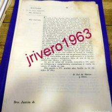 Manuscritos antiguos: 1827, FERNANDO VII, ACUERDO PARA EVITAR PROPAGANDA SUBVERSIVA TRAS LOS HECHOS DE TARRAGONA. Lote 183005673