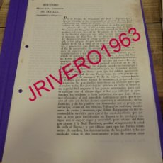 Manuscritos antiguos: 1833, FERNANDO VII, ACUERDO PARA AFRONTAR EL COLERA PROVINIENTE DE PORTUGAL. Lote 183007910