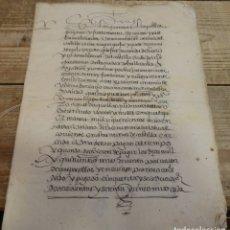 Manuscritos antiguos: VALLADOLID, 1596, CONSTITUCION CENSO SOBRE UNAS CASAS EN ARANDA DEL DUERO,25 PAGINAS. Lote 183084670