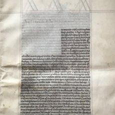 Manuscritos antiguos: MANUSCRITO PRIVILEGIO DE RENTA A FAVOR DEL COMENDADOR DE LA ORDEN CALATRAVA. 1519. ÁVILA. S.XVI.. Lote 183291521