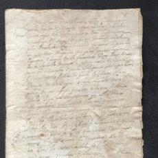 Manuscritos antiguos: MONASTERIO RONCESVALLES. REINA LEONOR. COPIA S.F. DE UN PRIVILEGIO DE 1468-1480. NAVARRA. S.XV.. Lote 183295461