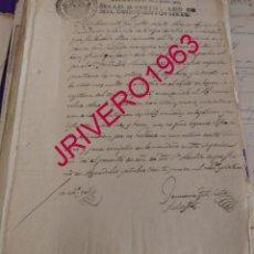 Manuscritos antiguos: AGUADULCE, SEVILLA, 1807, PESQUISAS PARA DETENER A UN DELINCUENTE, OFICIAL DE LA MARINA FRANCESA. Lote 183832941