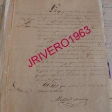 Manuscritos antiguos: 1846, PROHIBICION EXACCIONES ILEGALES A LOS PRESOS DE LA CARCEL DE ESTEPA, FIRMA MELCHOR ORDOÑEZ. Lote 183833385