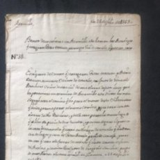 Manuscritos antiguos: MANUSCRITO DE BERMILLO ( ZAMORA) 1563 VENTA DE UNA TIERRA- LA MASIEGA. . Lote 183883820