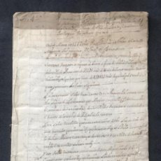 Manuscritos antiguos: MANUSCRITO TERMINÓ DE BENAVENTE 1572-1599 VENTA DE VIÑAS Y HERREDADES. . Lote 183889310