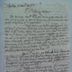 Manuscritos antiguos: CARTA MANUSCRITA ESCRITA EN SEPULVEDA EN 1825 , SIGLO XIX. Lote 184823570