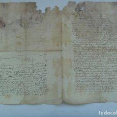 Manuscritos antiguos: DOCUMENTO MANUSCRITO DEL SIGLO XVII O ANTERIOR. Lote 184836882