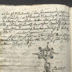 Manuscritos antiguos: MANUSCRITO REINADO DE CARLOS III 1734-1759. REINO DE NÁPOLES. . Lote 185961728