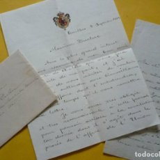 Manuscritos antiguos: PRINCESA ISABEL DE BORBON LA CHATA. AUTOGRAFO. Lote 186271383