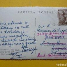 Manuscritos antiguos: PRINCIPE JAIME DE BORBON, TARJETA POSTAL DIRIGIDA A SU ESPOSA LA DUQUESA DE SEGOVIA. Lote 186272230