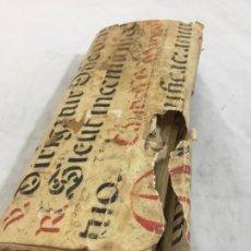 Manuscritos antiguos: ANTIGUO CUADERNO LIBRETA DE CUENTAS COMERCIO ZARAGOZA CON PERGAMINO MANUSCRITO ANTONIO FRANCIA. Lote 231383025