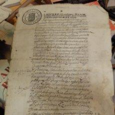 Manuscritos antiguos: SEPULVEDA, SEGOVIA, 1637, ESCRITURA DE ARRENDAMIENTO, TIMBROLOGIA SELLO 2º, 8 PAGINAS. Lote 187210900