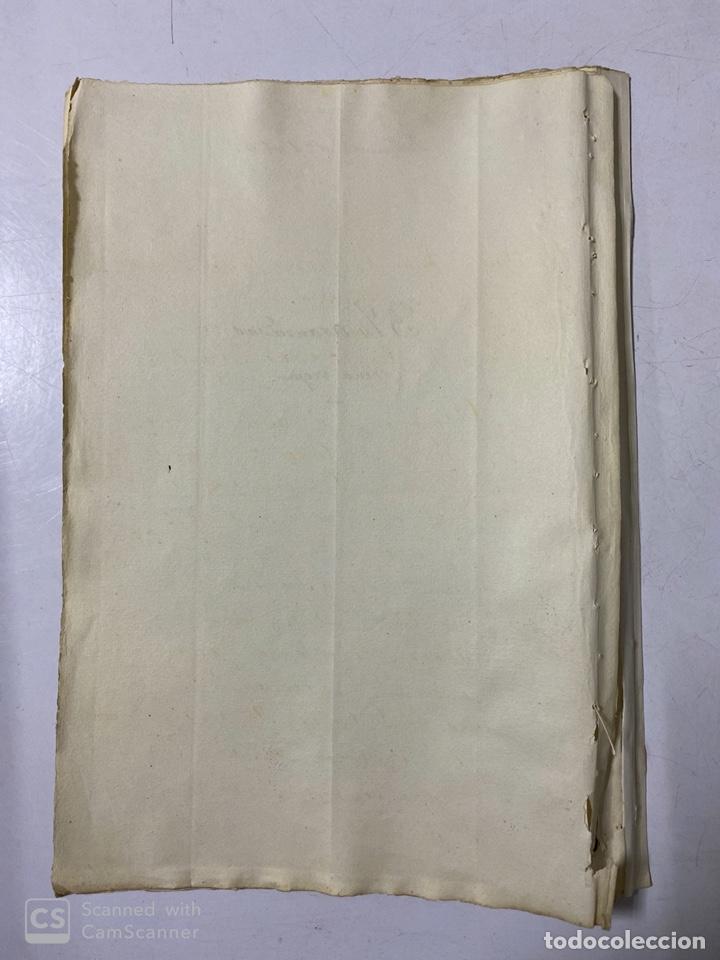 Manuscritos antiguos: JEREZ DE LA FRA, 1867. AGREGACION Y REVALORIZACION DE TIERRAS + TITULOS DE VIÑA EN EL PAGO DE ARGAL - Foto 8 - 189041657