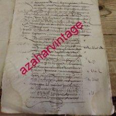 Manuscritos antiguos: 1577, CARTA DE DOTE Y ARRAS OTORGADA POR DON ANTONIO DE FIGUEREDO, CORREO MAYOR DE TOLEDO,8 PGS. Lote 189109917