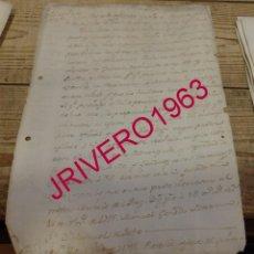 Manuscritos antiguos: 1795, SOLICITUD DE DETENCION DE MARINEROS PROFUGOS ASI COMO VAGOS, PARA INCORPORACION A LA ARMADA. Lote 189367995