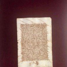 Manuscritos antiguos: DOCUMENTO DE PLASENCIA (CÁCERES) 1531. Lote 189540585