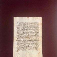 Manuscritos antiguos: CARTA DE VENTA ENTRE VECINOS DE PLASENCIA (CÁCERES) 1504. Lote 189543331