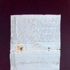 Manuscritos antiguos: PATENTE DE CAPITÁN DE INFANTERÍA FIRMADA Y SELLADA POR MARIANA DE AUSTRIA, MUJER DE FELIPE IV 1668. Lote 189563216