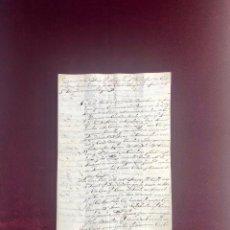 Manuscritos antiguos: RAZÓN DE LA VENTA DE CASAS EN EL BARQUILLO POR LA CONDESA DE ERIL AL MARQUÉS DE MONTEALEGRE 1663. Lote 189620265