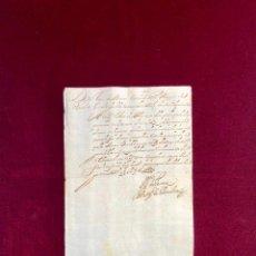 Manuscritos antiguos: CERTIFICADO DEL CONDE DE DAROCA, MARQUÉS DE PENALVA, SOBRE LA PRISIÓN DE UN SOLDADO 1668. Lote 189745812