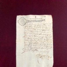 Manuscritos antiguos: DOCUMENTO OTORGADO POR CARLOS RIGGIO, OBISPO DE MAZARA 1680. Lote 189752071
