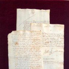 Manuscritos antiguos: 12 CARTAS DEL ÚLTIMO TERCIO DEL SIGLO XVI. Lote 189919627