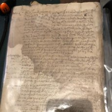 Manuscritos antiguos: MANUSCRITO S. XV PERFECTAMENTE LEGIBLE. Lote 190146143