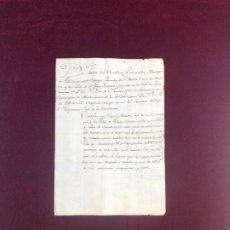 Manuscritos antiguos: CERTIFICADO SECRETARIO DE SM Y COMISARIO DE GUERRA DE LOS RREE 1757 SOLDADO VILLADA PALENCIA . Lote 190204236