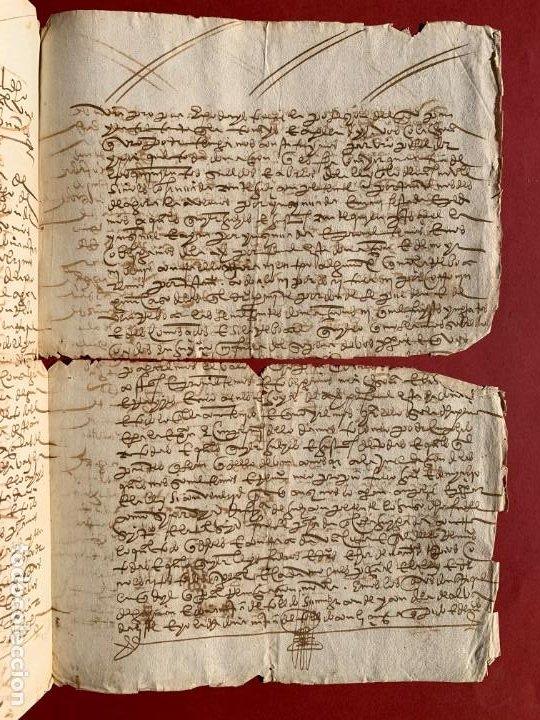 Manuscritos antiguos: 1560 - Don Diego de Toledo - Enrique de Guzman, conde de Alba de Liste - Orden de Malta - - Foto 2 - 190531471