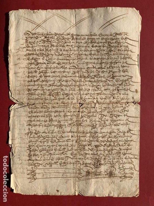Manuscritos antiguos: 1560 - Don Diego de Toledo - Enrique de Guzman, conde de Alba de Liste - Orden de Malta - - Foto 3 - 190531471