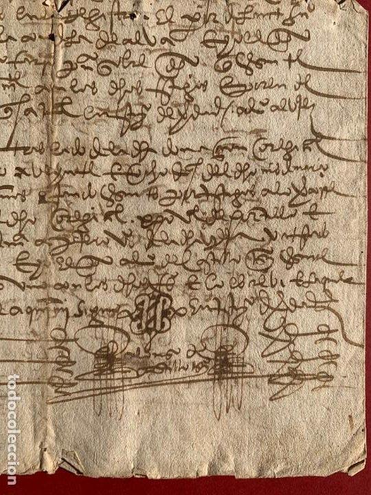 Manuscritos antiguos: 1560 - Don Diego de Toledo - Enrique de Guzman, conde de Alba de Liste - Orden de Malta - - Foto 4 - 190531471