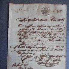 Manuscritos antiguos: NAVEGACIÓN MANUSCRITO AÑO 1846 ORDEN FONDEO BERGANTIN CUBA A JAMAICA CARGADO. Lote 190718036