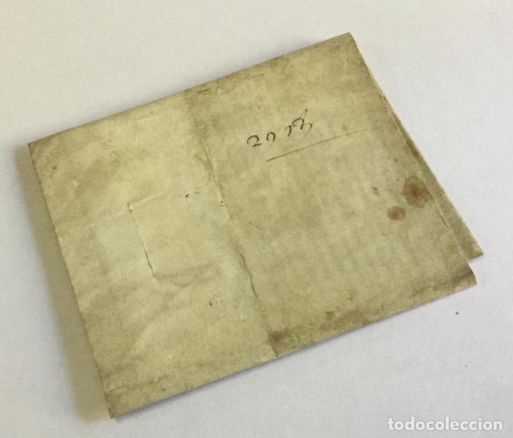 Manuscritos antiguos: [SENTENCIA DE UNA CAUSA DE APELACIÓN]. - [Manuscrito]. CARLOS VI DE FRANCIA. año 1402. - Foto 3 - 190808296
