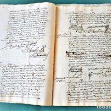 Manuscritos antiguos: MAYORAZGO. VALLADOLID. AÑO 1601 - 40 PÁGINAS ESCRITAS. Lote 191082098