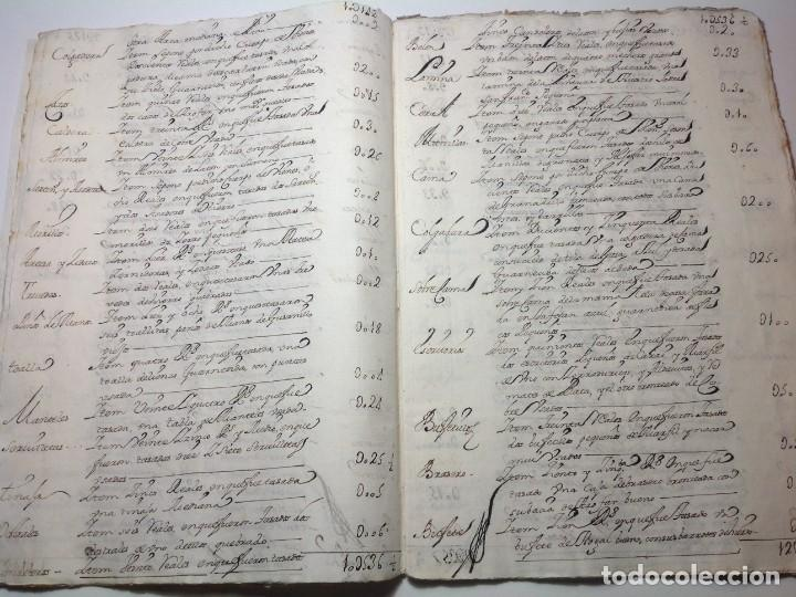 Manuscritos antiguos: 1724 Ciudad Rodrigo * extenso manuscrito 36 pag * herencia inventarios importante familia * Luis I - Foto 9 - 191112903