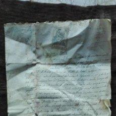 Manuscritos antiguos: DOCUMENTO DE COMPRAVENTA DE 1914. Lote 191277840