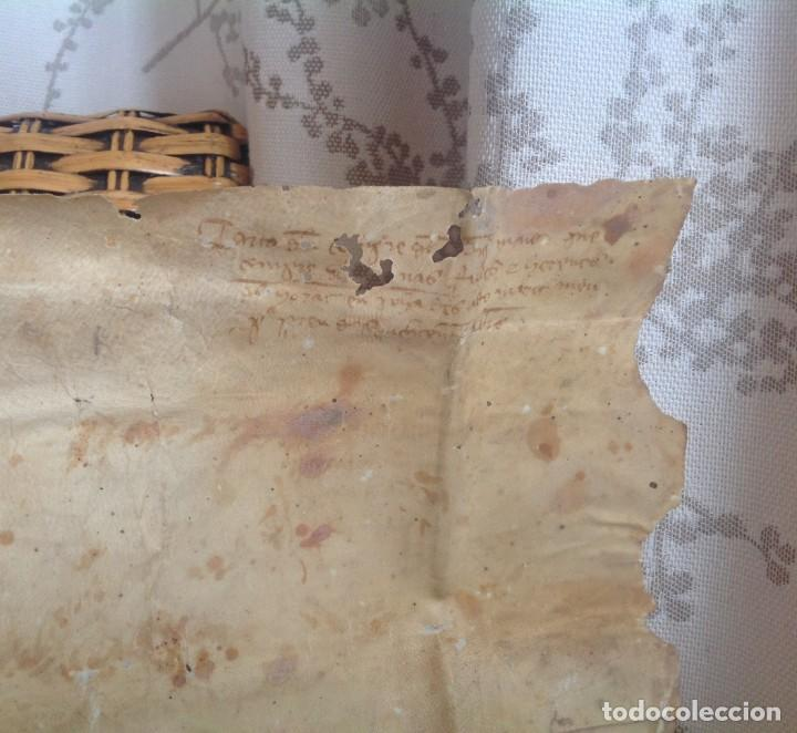 Manuscritos antiguos: 1407 PALMA mallorca * pergamino conquista NOTARIOS DE 1230 Y 1232 * CASAS DE huespedes en Drassanes - Foto 23 - 191450560