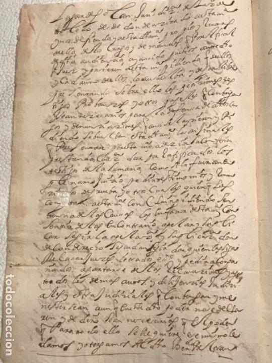 Manuscritos antiguos: MANUSCRITO AÑO 1700. SELLO SEGUNDO. 68 MARAVEDIS. PAPEL TIMBRADO. FIRMAS. - Foto 6 - 191626756