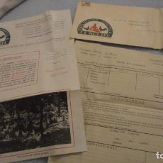 Manuscritos antiguos: ANTIGUA CARTA PUBLICITARIA.EXPLOTACION AGRICOLA LA MULATA.UTRERA SEVILLA 1953. Lote 191652930