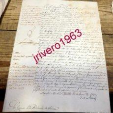 Manuscritos antiguos: 1827,MANDATO REAL SOBRE EJECUCION LEY DE GITANOS, A INSTANCIA CORREGIDOR DE BECERRIL DE CAMPOS. Lote 191761012