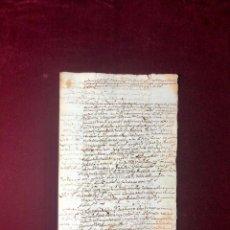 Manuscritos antiguos: CONFITERO DE TOLEDO, EJECUCIÓN POR DEUDAS, PRESO CÁRCEL REAL 1608. Lote 191838380