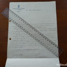 Manuscritos antiguos: GUERRA CIVIL, NOVIEMBRE 1936, MINISTERIO GUERRA EXISTENCIAS DE PRENDAS DE ABRIGO Y UNIFORMES. Lote 192046937