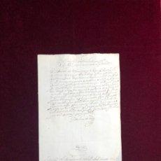 Manuscritos antiguos: CERTIFICADO DE CONSEJERO DE GUERRA SOBRE LOS SERVICIOS DE UN SOLDADO. VILLAMAYOR 1644. Lote 192372148