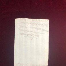 Manuscritos antiguos: CERTIFICADO DEL VEEDOR GENERAL DE LA CABALLERÍA EN BARBASTRO DE LOS SERVICIOS DE UN CAPITÁN 1643. Lote 192378223