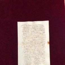 Manuscritos antiguos: FADRIQUE DE TOLEDO, MARQUÉS DE VILLANUEVA DE VALDUEZA PONFERRADA LEÓN ENCOMIENDA DE LOPERA (JAÉN). Lote 192441830