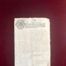 Manuscritos antiguos: NOMBRAMIENTO DE TENIENTE SEGUNDO DE SEVILLA POR EL MARQUÉS DE LA PUEBLA DEL MAESTRE - 1642. Lote 192545196