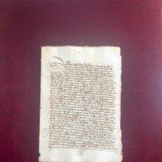 Manuscritos antiguos: VENTA DE UNA CASA A UN MERCADER DE PLASENCIA (CÁCERES) 1511. Lote 192550641